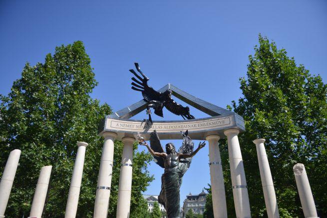 A német megszállás emlékműve