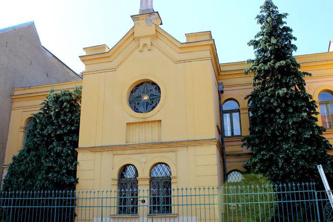 A valamikori egri ortodox zsinagóga