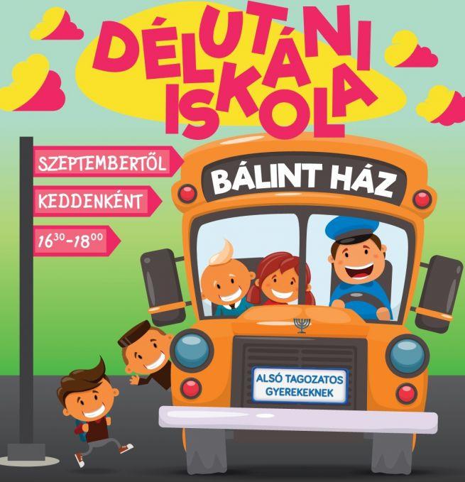 Délutáni iskola Bálint Ház 2016