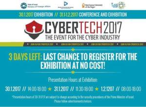Cybertech 2017 @ Tel Aviv Convention Center