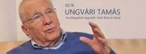 Ungvári Tamás estje: Az eltagadott hagyaték:Zsolt Béla és társai @ Spinoza Színház