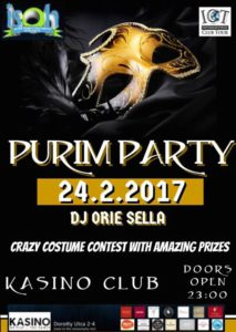 PURIM PARTY !