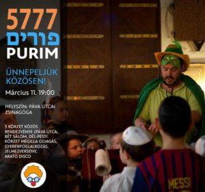Purim - 5777 @ Páva Utcai Zsinagóga