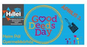 Good Deeds Day - Falfestés a Heim Pál Gyermekkórházban @ Heim Pál Gyermekkórház