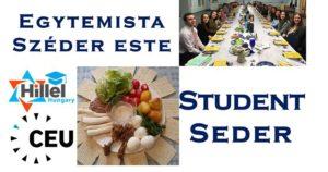 Hillel & CEU Student Seder / Egyetemista Széder este @ Central European University