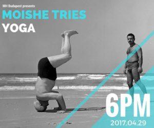 Moishe Tries Yoga @ Mózes Ház - Moishe House Budapest