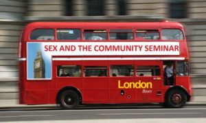 Sex and the Community: Gender and Sexuality in Judaism @ London, United Kingdom