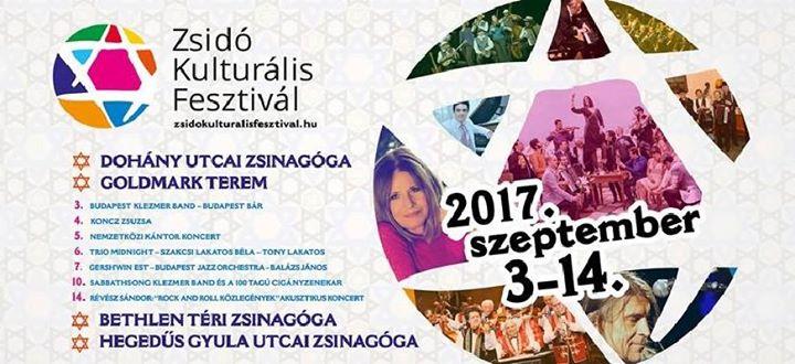 Zsidó Kulturális Fesztivál / szeptember 3-14. @      