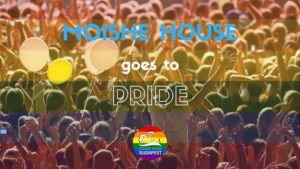 Moishe goes to Pride @ Mózes Ház - Moishe House Budapest