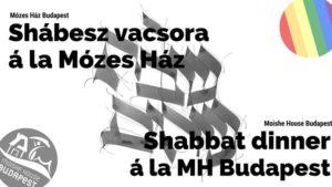 Moishe Shabbat with Pride @ Mózes Ház - Moishe House Budapest