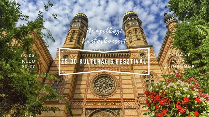 Nemzetközi Kántorkoncert / Zsidó Kulturális Fesztivál @ Dohány utcai zsinagóga        