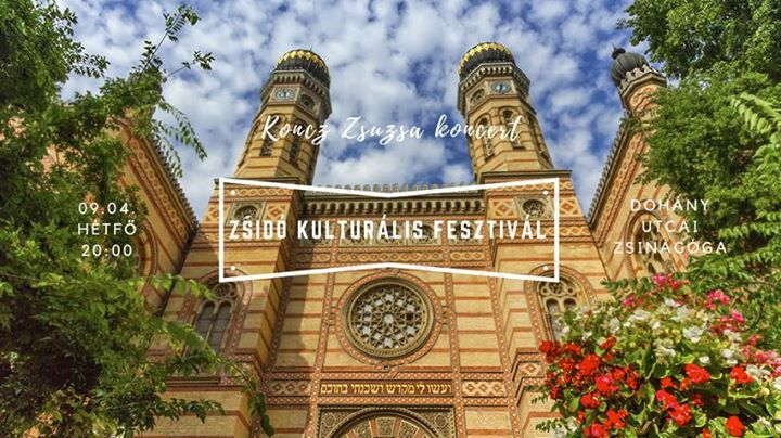 Koncz Zsuzsa koncert / Zsidó Kulturális Fesztivál @ Dohány utcai zsinagóga        