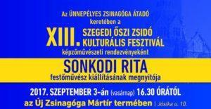 Sonkodi Rita kiállítása @ Szegedi Zsinagóga        