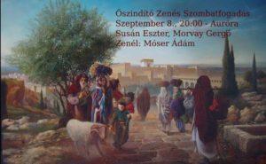 Őszindító Zenés Szombatfogadás // Musical Kabbalat Shabbat @ Auróra   Budapest      Hungary