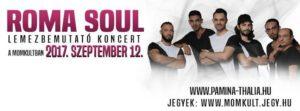 Roma Soul ★ Lemezbemutató koncert ★ @ MOMkult        