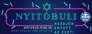 N Y I T Ó B U L I - 2 0 1 7 ♛ @ Hanoar Hatzioni Hungary |  |  |