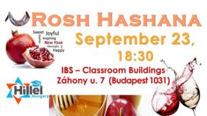 Egyetemista Zsidó Újév - Jewish New Year for Students @ IBS International Business School Budapest - Vienna |  |  |