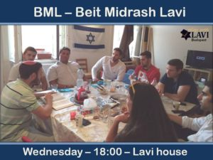 BML - Beit Midrash Lavi @ Lavi house Budapest |  |  |