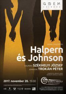 Gólem Színház: HALPERN/Székhelyi József és JOHNSON/Trokán Péter! @ Babits Mihály Kulturális Központ | Szekszárd |  | Hungary