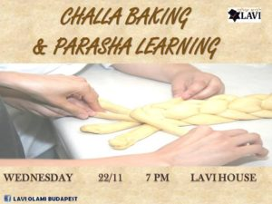 Challa Baking & Parasha Learning @ Lavi house Budapest |  |  |