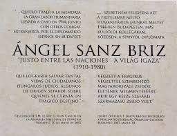 SANZ BRIZ A SPANYOL ZSIDÓ MENTŐ c. spanyol dokumentumfilm bemutatása. @  |  |