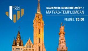 Klasszikus koncertélmény a Mátyás-templomban @ Mátyás-templom |  |  |