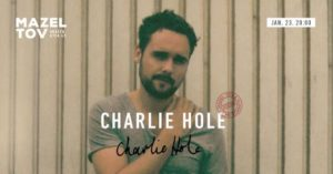 Charlie Hole (UK) - Acoustic Session @ Mazel Tov | Budapest |  | Hungary