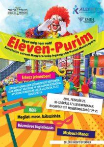 Eleven-Purim @ Elevenpark | Budapest |  | Hungary