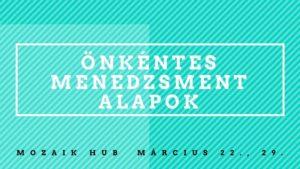 Önkéntes menedzsment alapok @ Mozaik Zsidó Közösségi Hub | Budapest |  | Hungary