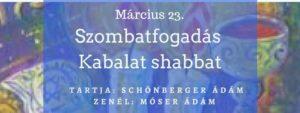 Szombatfogadás - Kabbalat Shabbat @ Auróra | Budapest |  | Hungary